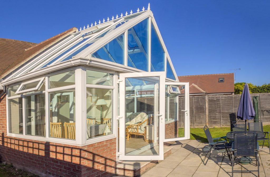 transparent conservatory