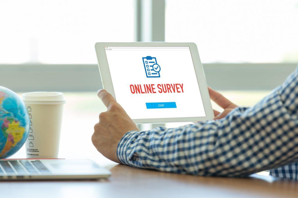 online survey for feedback