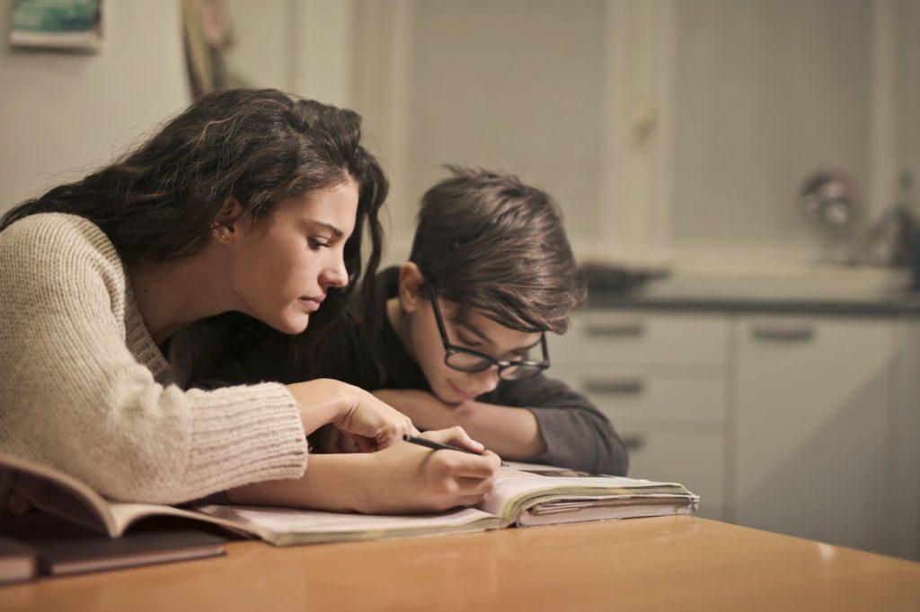 teaching child