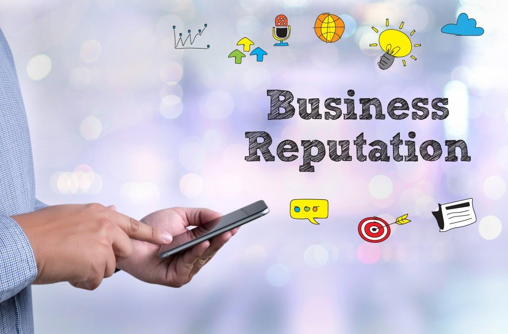 business reputation concept
