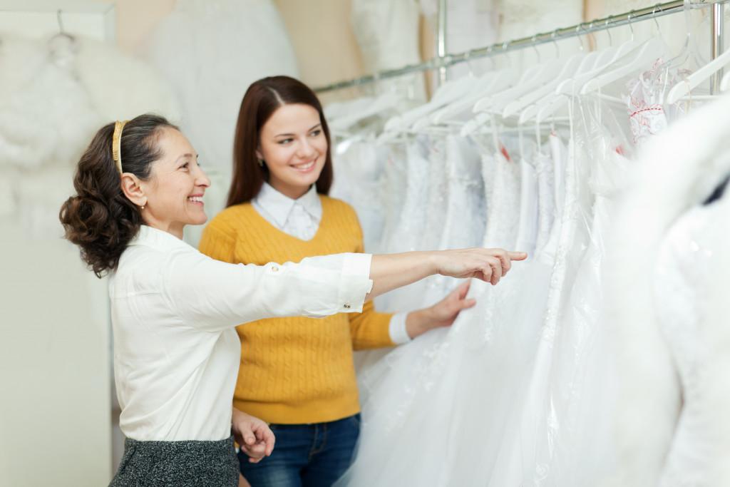 bridal dress concept